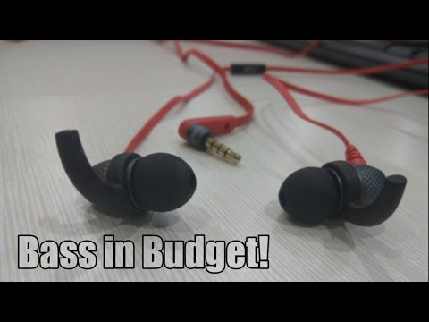 """boAt BassHeads 225 Unboxing & Review - """"Best Extra Bass Earphones under Rs 500?"""""""