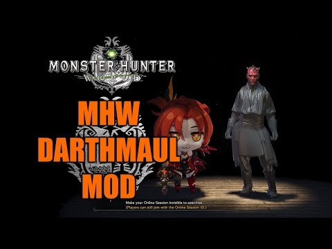 The Monster Hunter World Modding Experience: Nepigante - смотреть