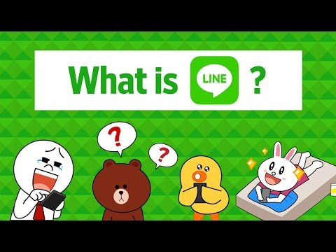 Using Line Messaging App to Explain Line