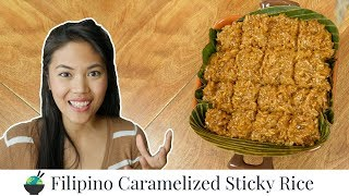 Biko Recipe | Sticky Rice Recipe | Filipino Desserts