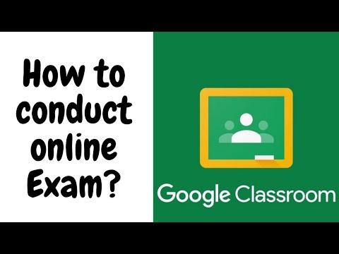 How to Conduct Online Exam in Google Classroom?||SWAMY VIJAY