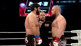 Заур Гаджибабаев vs Николай Савилов, M-1 Challenge 86, FULL HD