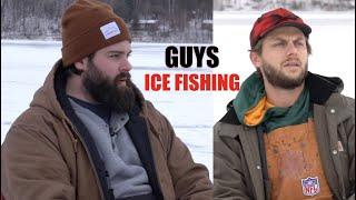 Guys Ice Fishing