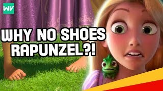 Why Doesnt Rapunzel Wear Shoes?: Discovering Disney (Q&A #4)