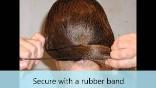 Hairnets Use for the Equestrian Rider