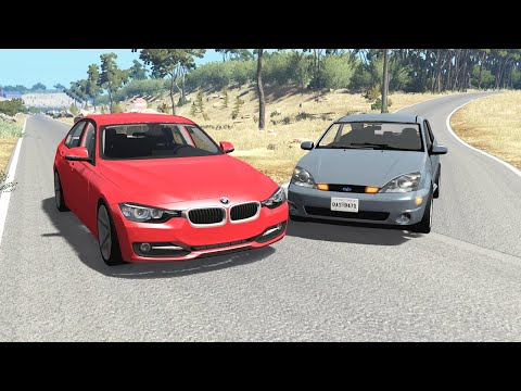 Realistic Car Crashes 15 - BeamNG Drive