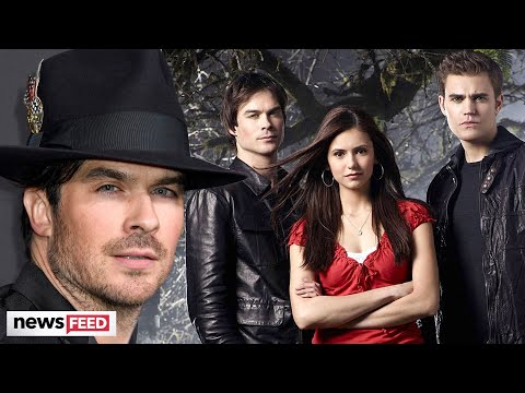Ian Somerhalder Almost LOST His Role On 'The Vampire Diaries' To Another Actor!