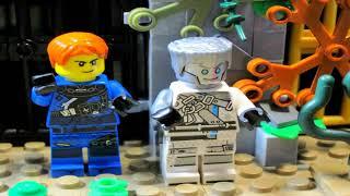 LEGO Ниндзяго Преследуемые 3 сезон 5 серия Что ни шаг ,то битва