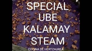 UBE KALAMAY SPECIAL • PURPLE YAM STICKY DELICACY •   HERTZAUREA