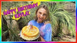 Kayla's 15th Birthday! Make a Wish!   We Are The Davises