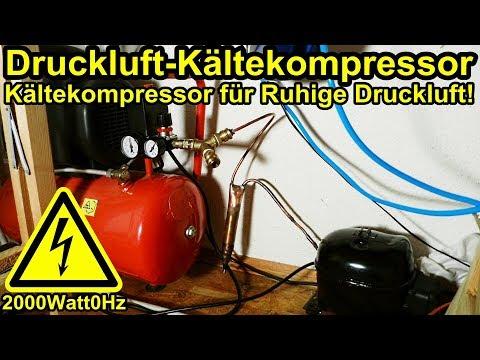 Kältekompressor für Druckluft