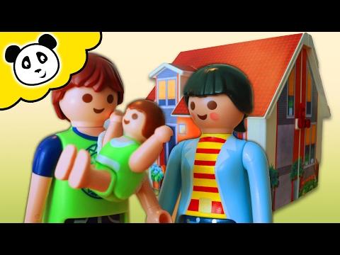 ⭕ PLAYMOBIL - Mein Neues Mitnehm-Puppenhaus  - Spielzeug ausgepackt & angespielt - Pandido TV