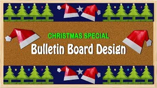 CHRISTMAS SPECIAL: Border For Bulletin Board On Christmas Theme.