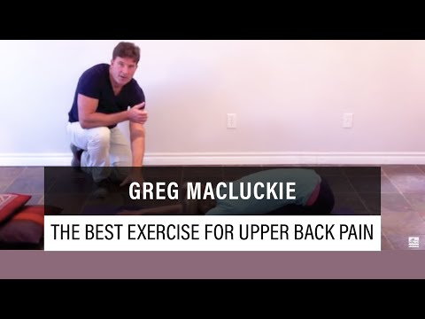 Video The Best Exercise For Upper Back Pain