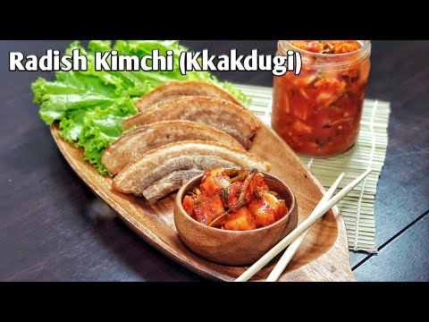 Cubed Radish Kimchi (Kkakdugi) | Korean Dish | Vegetable Recipe | Jumong's Kitchen Ep 8 🎧