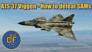 DCS 2.5 - AJS 37 Viggen - How to defeat SAMs in flat terrain