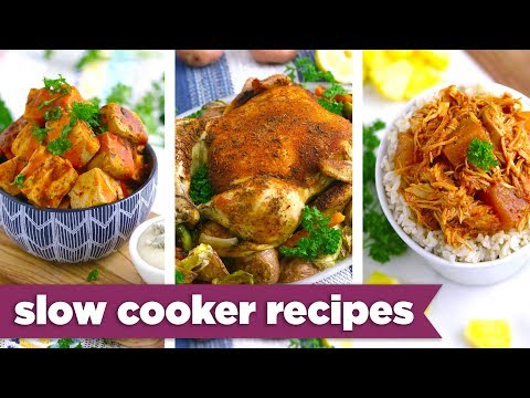3-Ingredient Slow Cooker Healthy Recipes - Mind Over Munch