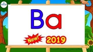 """Cách đánh vần dễ dàng nhất 2019 - Bài 1: Ghép vần đơn giản với chữ """"a"""""""