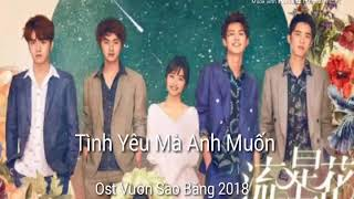 Tình Yêu Mà Anh Muốn - Đới Bội Ni ( OST Vườn Sao Băng 2018 )
