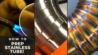 HOW TO PREP Stainless Steel Tube (QUICK) for TIG welding + Tips!