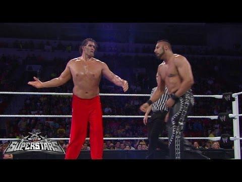 The Great Khali vs. Jinder Mahal: WWE Superstars, August 9, 2013