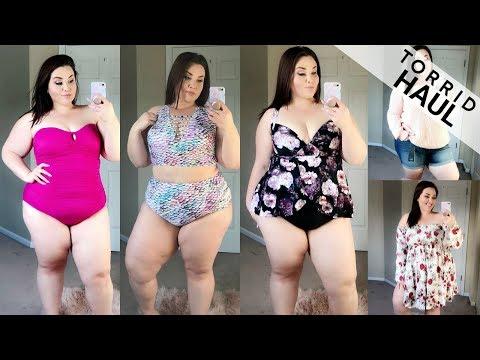 Torrid Haute Cash Haul 2018 SWIMSUITS |Plus Size Fashion|