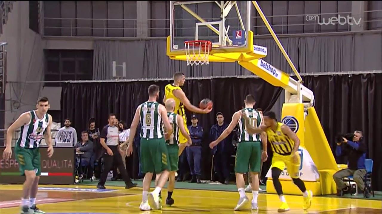 Basket League 2019-2020: ΑΡΗΣ – ΠΑΝΑΘΗΝΑΪΚΟΣ | HIGHLIGHTS | 15/02/2020 | ΕΡΤ