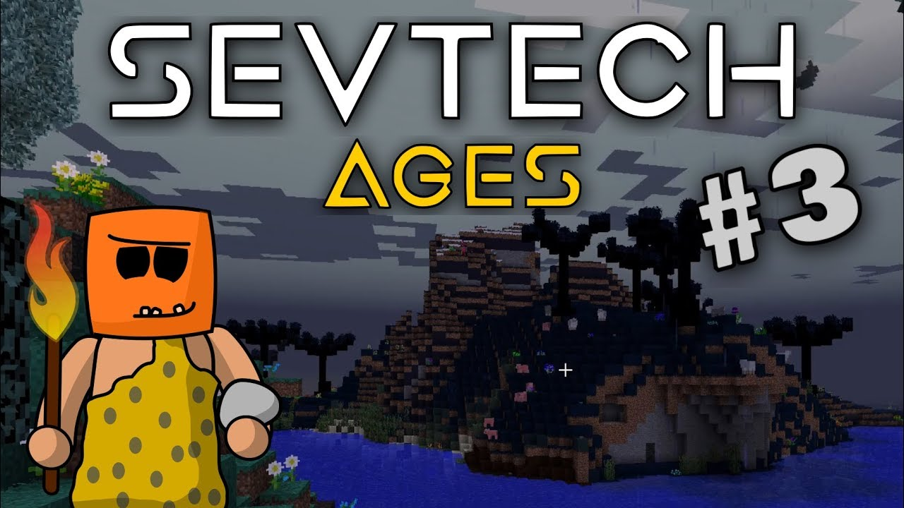 Minecraft - The Darklands - SevTech Ages #3