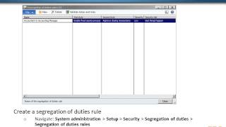 Security Design Strategy for AX 2012 Implementation