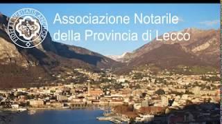 Il servizio di TeleUnica a conclusione della partecipazione dell'Associazione Notarile di Lecco