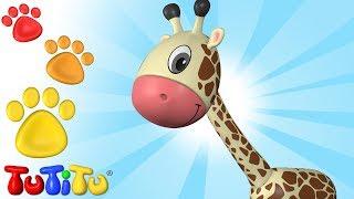 TuTiTu Animals | Animal Toys for Children | Giraffe and Friends