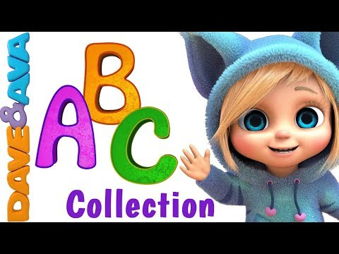 Learn Colors, Numbers and ABCs. ABC Songs for Kids. Alphabet Song. Nursery Rhymes New Video 2018