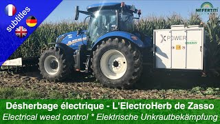 Electrical weed control – The ElectroHerb from Zasso