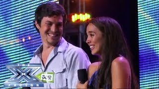 Alex & Sierra - Sultry Cover of Britney Spears' 'Toxic' - THE X FACTOR USA 2013