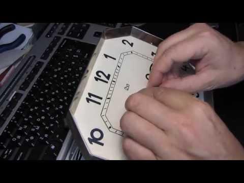 Как починить старые настенные часы ОЧЗ Янтарь