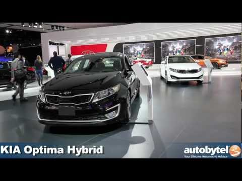 Kia Optima Hybrid at the 2012 Detroit Auto Show video