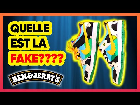 REAL VS FAKE! Nike SB Dunk Low Ben & Jerry's Chunky Dunky