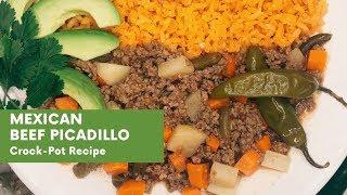 Mexican Beef Picadillo | Crock-Pot Recipe