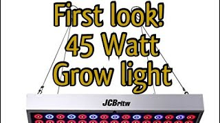 CBritw 45W LED Grow Light Panel Full Spectrum with IR & UV