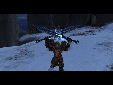 How to obtain Thunderfury hidden artifact appearance?  BOTH binding's included.