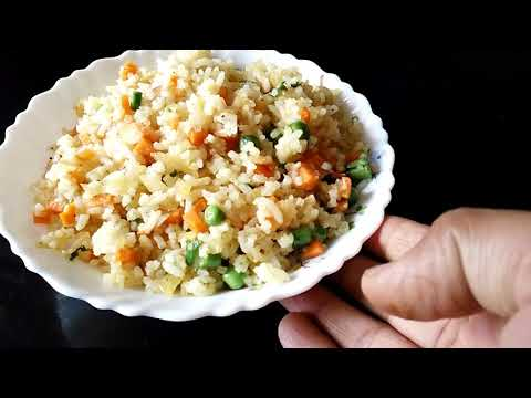 Simple Instant Veg Rice