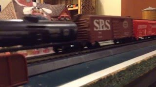 "HO Scale ""Emperor Of The North"" Train!!!"