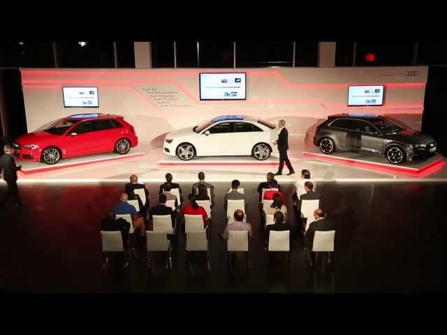 Audi A3 Press Presentation