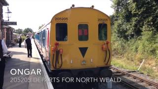 preview picture of video 'Epping Ongar Railway - August 2014'