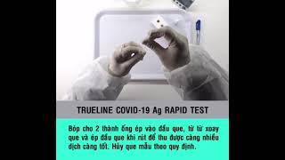 Trueline COVID-19 IgG/IgM Rapid Test Kit youtube video