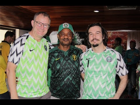 CONSULATE GENERAL OF BRAZIL LAGOS HOST LIVE VIEW MATCH OF BRAZIL VS NIGERIA