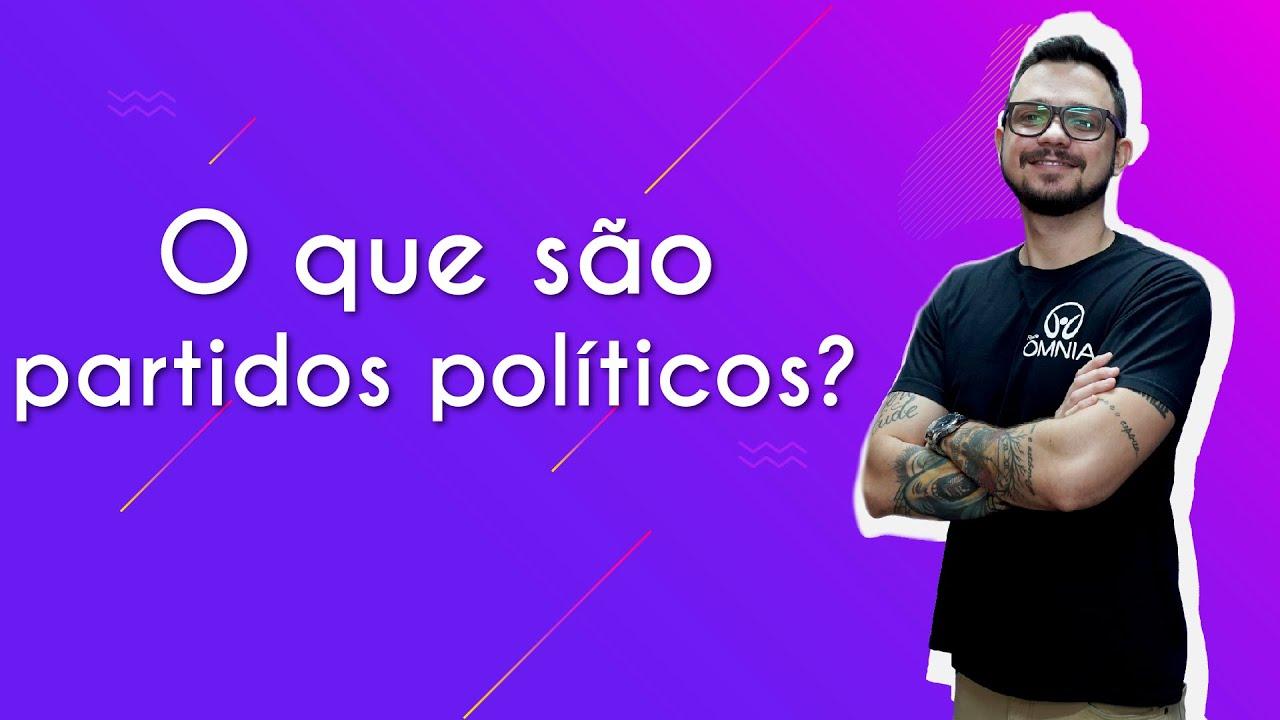 O que são partidos políticos?