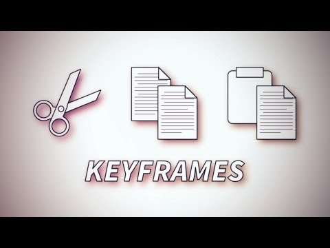 How To Copy & Paste Keyframes – An Adobe After Effects tutorial