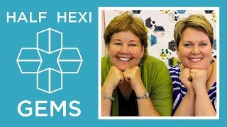Make Hexi Gems Applique With Jenny Doan Of Missouri Star And Lisa Hirsch! (Video Tutorial)