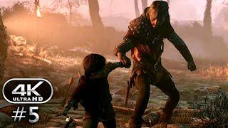A Plague Tale Innocence Gameplay Walkthrough Part 5 - A Plague Tale PC 4K 60FPS